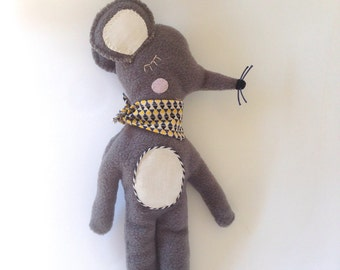 Alfred the plush mouse/stuffed animal