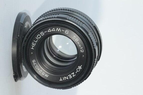 MC Helios 44M-6 MC 58mm f/2 M42 Russian Lens Zenit EXCELLENT N93192