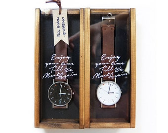 ATHATABRAND Organic Leather Watch