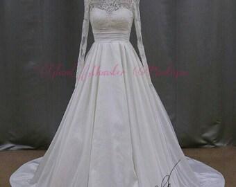 SAMPLE SALE Handmade Traditional Princess Bridal Gown