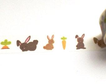Bunnies Love Carrots, Washi Tape