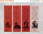 ON SALE Instant download , Printable Bookmarks ,  Romantic quote , Bookmark set , Printable Quote Bookmark, Romantic art , Reader Gift