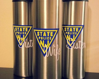 NJSP Travel Coffee Mug