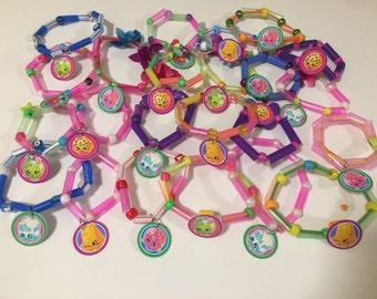 Shopkins bracelet party favors 24