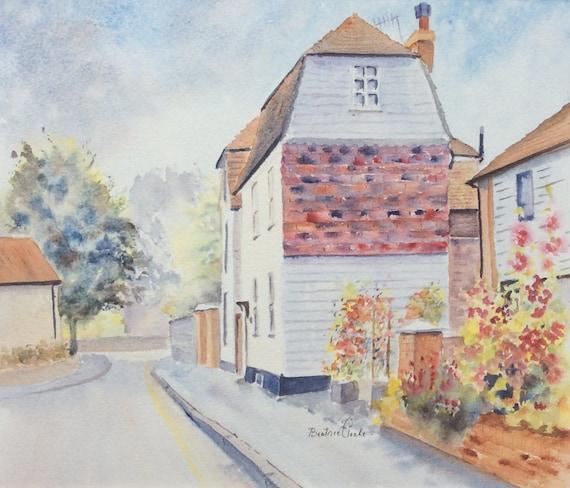 Marine Walk street - Hythe Kent