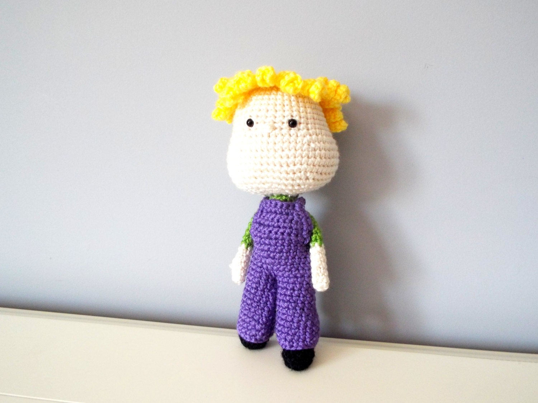 Crochet Toys For Boys : Crochet boy doll toy amigurumi dolls gifts toddler