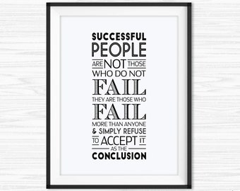 Amazing Office Wall Art Printable Office Quotes Success Quote Motivational Wall  Decor Inspirational Canvas Quote Office Motivation