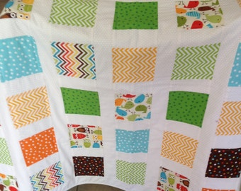 Urban Zoology Quilt REDUCED