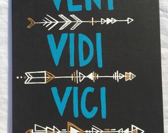 Veni Vidi Vici painting