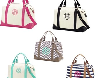 Monogrammed weekender bag/overnight bag