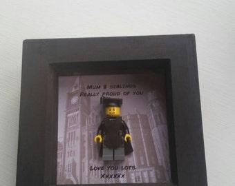 Lego frames, christening, birthday, thank you page boy, bridesmaid, graduation..