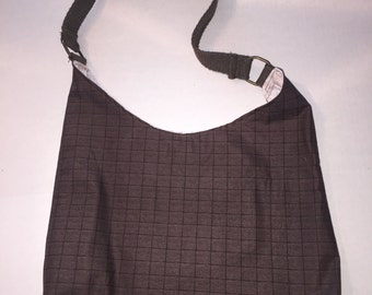 Reusable shopping bag, grocery bag, hobo bag