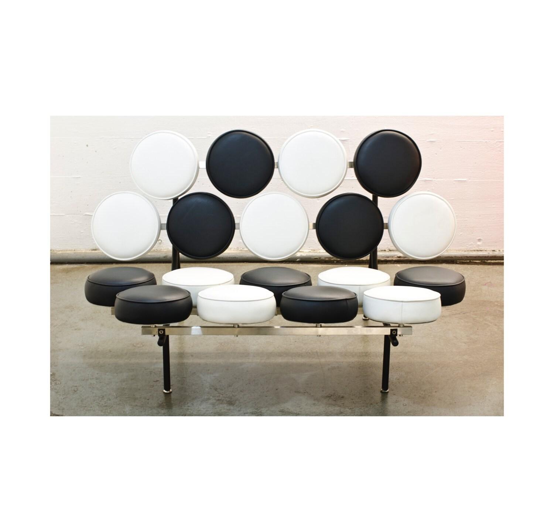 Mid Century Nelson Marshmallow Sofa