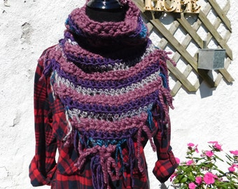 READY TO SHIP!!! Eclectic Fringe Scarf