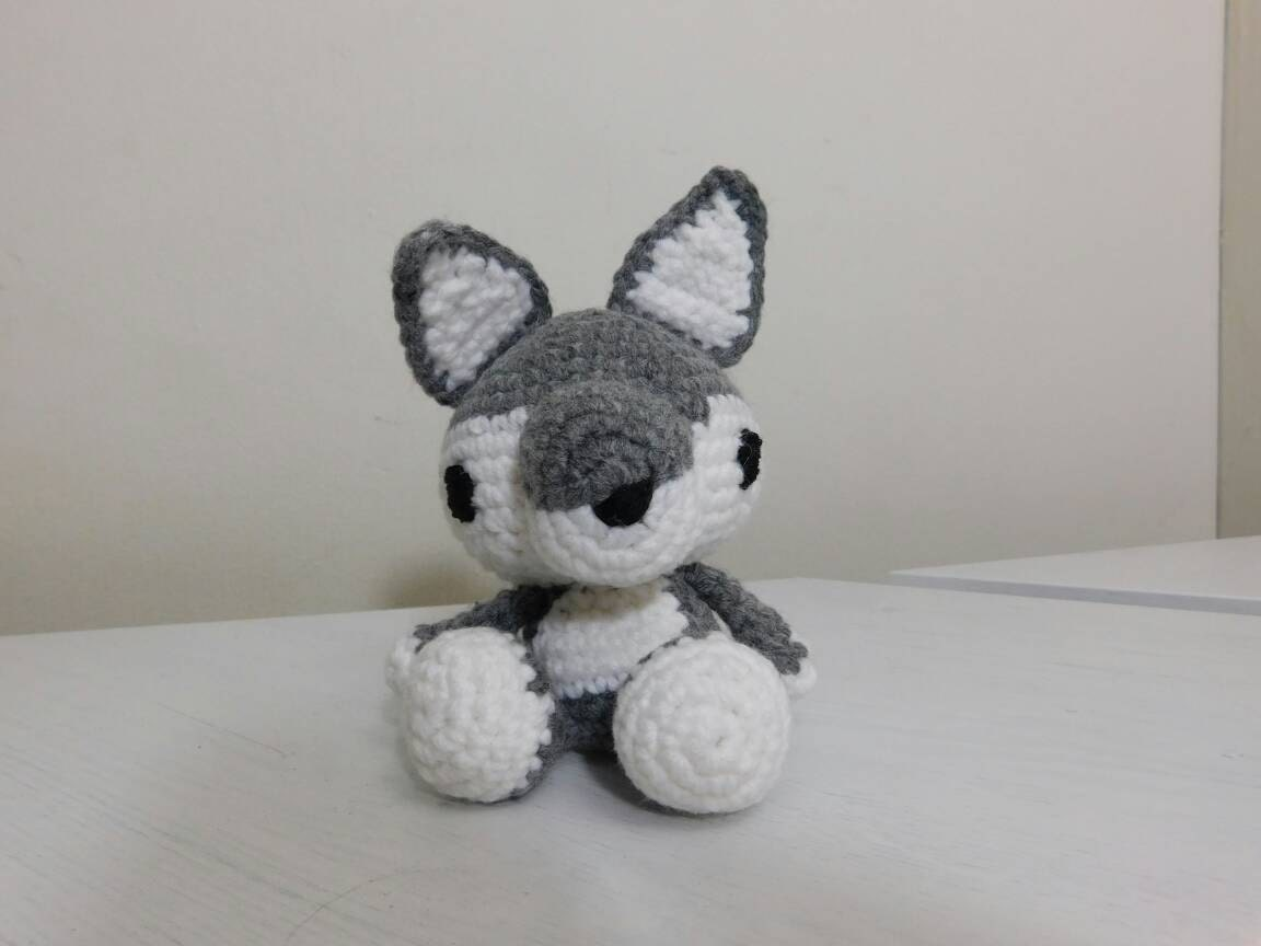 Amigurumi Wolf Crochet Wolf Wolf Plushie
