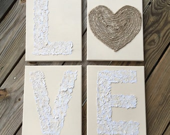 Custom Love Canvas Set