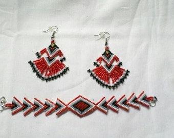 Native American beaded jewelry