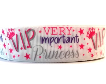 Princess Ribbon, Princess Grosgrain, Tiara Ribbon, Tiara Grosgrain, Pink Princess Ribbon, Purple Princess Ribbon, Purple Pink Ribbon