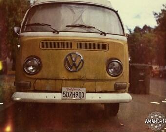 Volkswagen VW Combi Van Polaroid photograph -digital download