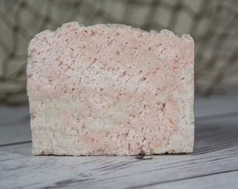 Sea Salt Soap, Sea Salt  Bar Cold Process Soap