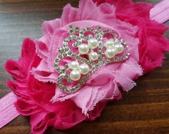 Pink Princess Sleeping Beauty Tiara Headband