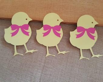 Chick Die Cuts Set of 3