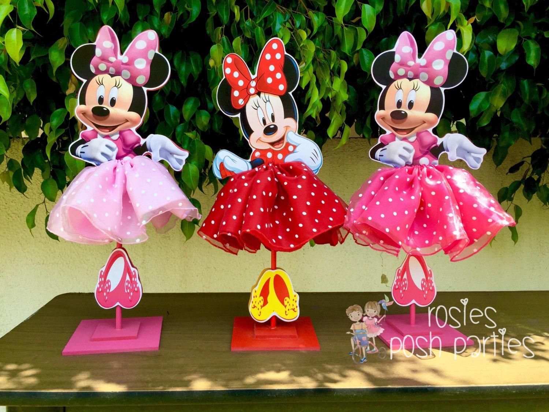 Minnie Mouse Tutu Birthday Decoration Tutu pink OR red version