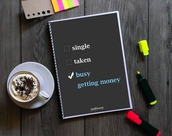 Budget planner book, bill organizer book, bill planner, financial organizer, financial planner book, budget book, finance planner printable