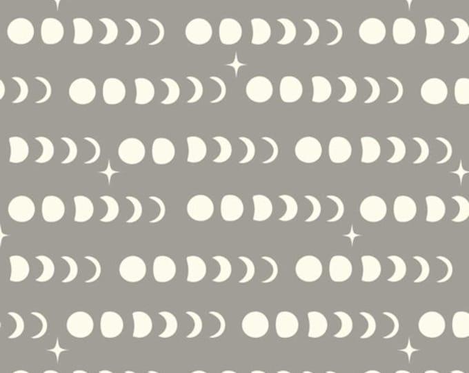 Birch Fabrics - Tall Tales - Moon Phase Shroom - Organic Cotton Woven Fabric - FINAL CLEARANCE