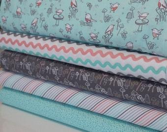 Fat Quarter Bundle - 100% Cotton, Quilting and Patchwork Fabric