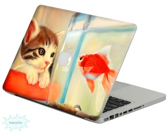 New fish decal mac stickers Macbook decal macbook stickers apple decal mac decal stickers