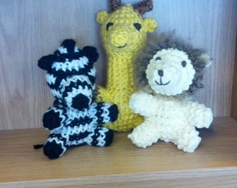 Giraffe, Lion or Zebra