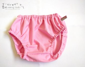 Diaper cover baby pink, Baby diaper cover pink diaper cover Pink diaper covers Pink baby bloomers Bubble gum pink 0-3m 3-6m 6-12m 12-24m