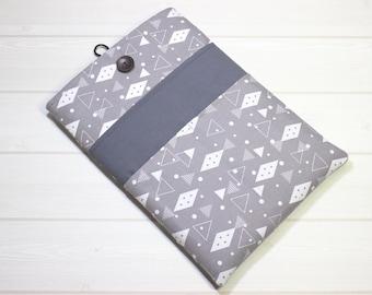 13 Macbook Air case, New Macbook case, gray Macbook sleeve, gray laptop case, Macbook Pro sleeve, laptop sleeve, 13 inch laptop case