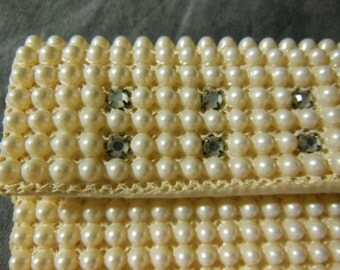Vintage Pearl Evening Bag / Purse