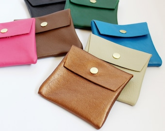 Small Leather Pouch (new colors)