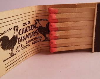 Vintage Matchbook Dinette Sacramento