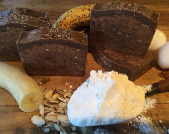 BANANA NUT BREAD ...Deep Cleaning, Super Moisturizing Soap, To Fight Winter's Drying Effects On The Skin...with Shea Butter And Cocoa Butter