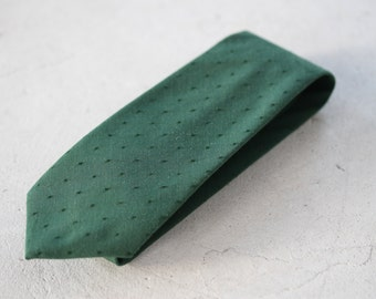 Emerald Green Skinny Tie