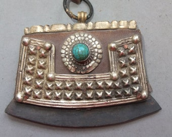 Metal - Leather Lighter Tibet