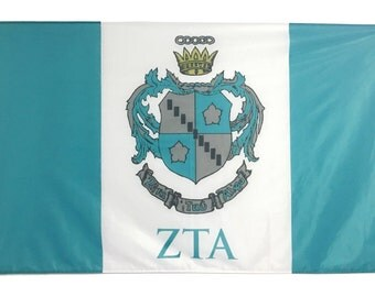 Zeta Tau Alpha Flag - 3' X 5' Officially Approved