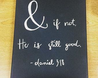 Custom Quote or Bible Verse on Canvas