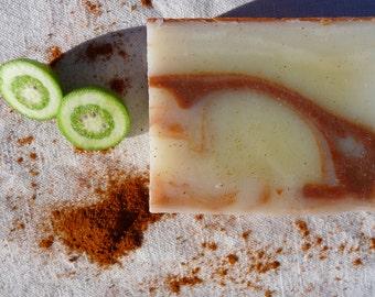 """Citrus"" SOAP, handmade soap, organic SOAP, SOAP vegan, saponification cold"