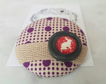 Fabric Brooch