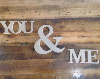 You and Me - wall hanging