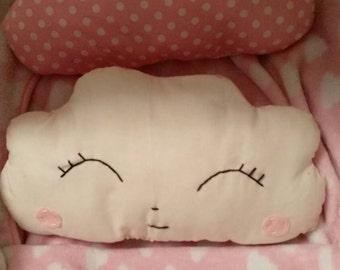 Pink Cloud Pillow