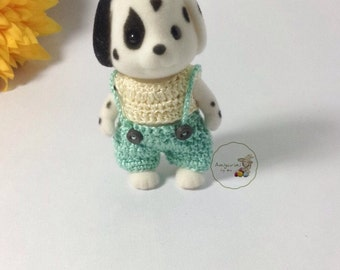 Sylvanian Families/ Calico Critters crochet clothes for brother Made to Order #3001