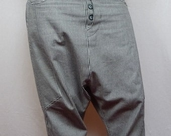 original trousers stripes or black corduroy