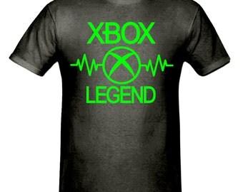 Pulse Xbox legend t shirt,men,s t shirt sizes small- 2xl, gift,gaming t shirt