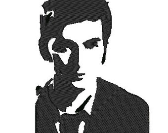 David Tennant Embroidery